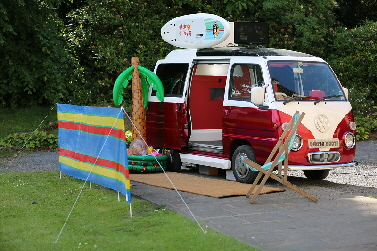 Camper Photobooth for hire