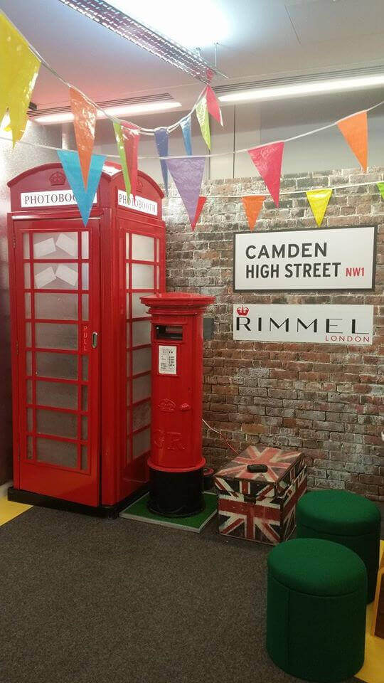Telephone Photo Booth On A JobFor Rimmel London