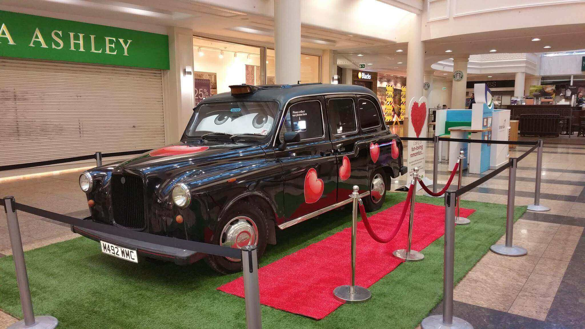 Black Taxi Cab Photo Booth Hire